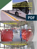 Campaña en El Transmetro Sobre Las Personas Discapacitadas