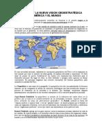 Geopolitica y La Nueva Vision Geoestratégica Del Perú en América y El Mundo