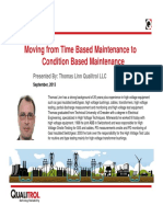Moving From Time Based Maintenance to Condition Based Maintenance (Webinar)