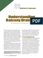 Understanding Balcony Drainage