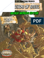 Evil DM Productions - Legends of Steel - Savage Worlds Edition (Screen)