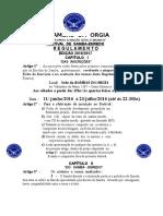 Bambas Regulamento Do Samba Enredo