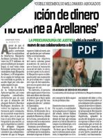 17-06-16 'Devolución de dinero no exime a Arellanes'
