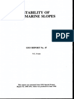 Stability of Marine Soil