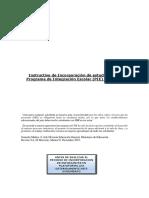 Instructivo de Incorporacion PIE_2016