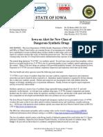 Iowa Alert-New Synthetic Opioid Drug Dangers