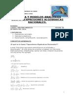 Guia Nº1 Expresiones Algebraicas Racionales