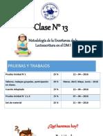 Clase N° 13 - Met. Ens. Lectoescritura - 2016.pdf
