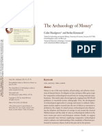 Archaeology of Money