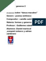 Poema Sinfonico Danza Macabra