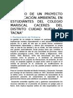 Impacto de Un Proyecto de Educación Ambiental en Estudiantes de Un Colegio en Una Zona Marginal de Tacna (1) (1)