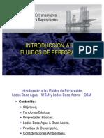 introducción a los fluidos de perforación