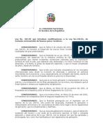 Ley184-02 Fomento al Desarrollo de Nuevos polos Turísticos.