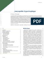CARDIOMYOPATHIE HYPERTROPHIQUE
