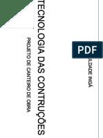 Capa de projetos