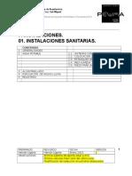 06 F- InSTALACIONES. 01 Instalaciones Sanitarias