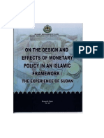 Elhiraika-On the Design and Effects of Monetary Policy in an Islamic Framework the Experience of Sudan