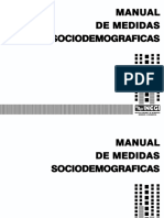 Manual de Medidas INEGI
