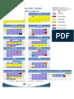 2016 - 2017 calendar