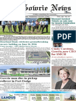 June 22 Gowrie News