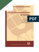 Habermas - La Constitucionalizaciòn de Europa