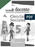 Guía Docente Ciencias Sociales