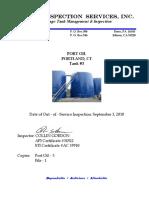 DJA Report Port Oil Tank 3