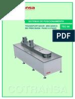 Tec08 Cotransa Catalogo Transportador Mecanico Paso a Paso