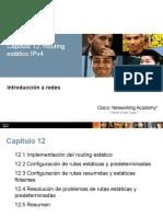 12 Enrutamiento Estatico Con Ipv4