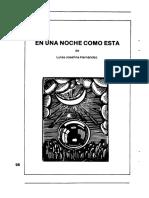 En Una Noche Como Ésta de Luisa Josefina Hernández