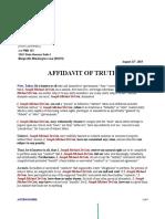 affidavit statement of truth example