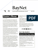BayNet News Fall 1997