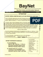BayNet News Spring 1996