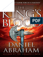 Abraham, Daniel - The Dagger and the Coin, 02 - The King-s Blood.pdf