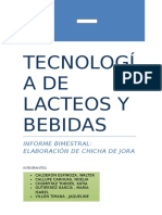 Elaboracion de Chicha de Jora 2015