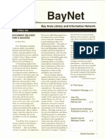 BayNet News Spring 1993
