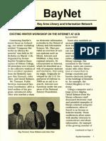 BayNet News Spring 1992