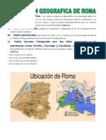 Ubicación Geográfica de ROMA