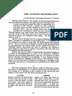 Spener- Continuing the Reformation (the Covenant Quarterly, 38 No 1 Feb 1980, p 13-22).