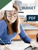 Frisco ISD 2016-17 Budget