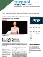 Der Letzte Tanz Von Véronique Doisneau - Berner Kulturagenda