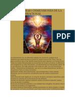 Las Primeras 7 Dimensiones de La Octava Vibracional