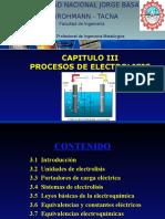 Clase. Proceso de Electrolisis A
