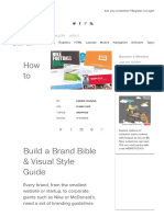 How to Build a Brand Bible & Visual Style Guide _ Design Shack