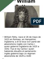 Wiliam Petty y Fisiocracia.
