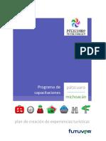 Capacitacioìn Plan de Creacioìn de Experiencias Turiìsticas Paìtzcuaro 2016