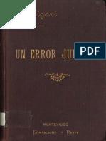 Figari, Pedro - Un error judicial (1899)