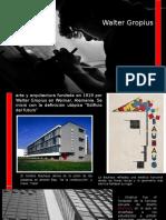La Bauhaus - Walter Gropius