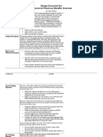 cbt design-document pharmacy benefits