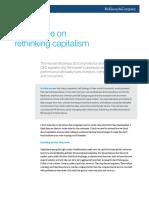Bill Bill George on rethinking cGeorge on Rethinking Capitalism_